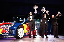FIA World Rally Championship: Olivier Quesnel, FIA World Rally Champions Sebastien Loeb ve Daniel Elena