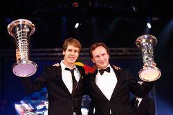 FIA Formula One World Championship: Sebastian Vettel and Christian Horner, Red Bull