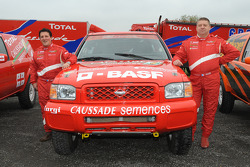 Team Dessoude: rijder Frédéric Chavigny en corijder Willy Alcaraz