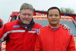 Team Dessoude : le pilote Honghzi Guo et le co-pilote Denis Schurger