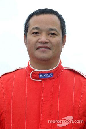 Team Dessoude : le pilote Honghzi Guo