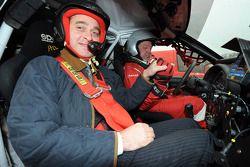 Team Dessoude: rijder Frédéric Chavigny met gast