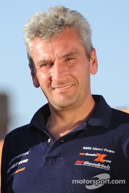 Team X-raid: rijder Leonid Novitskiy