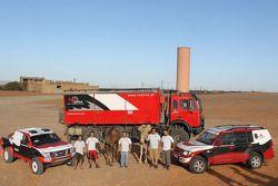 Red Line Team: Francisco Inocencio en Pedro Velosa met team