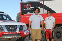 Red Line Team: Francisco Inocencio et Pedro Velosa