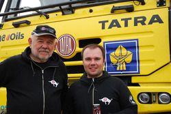 Loprais Tatra Team: Karel Loprais et Ales Loprais