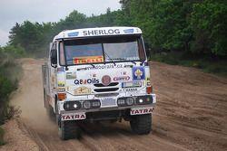 Loprais Tatra Team: Karel Loprais teste un camion