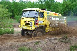 Loprais Tatra Team: Ales Loprais, Milan Holan en Josef Kalina