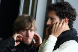 Nick Heidfeld, testing for Lotus Renault GP, Bruno Senna, Lotus Renault GP Test Driver