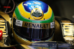 Бруно Сенна, тестовый пилот Lotus Renault GP