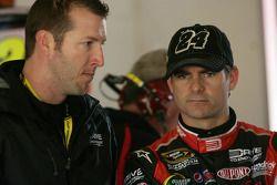 Jeff Gordon, Hendrick Motorsports Chevrolet and crew chief Alan Gustafson