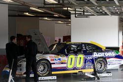 Car of David Reutimann, Michael Waltrip Racing Toyota
