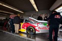 Brian Vickers, Red Bull Racing Team Toyota, technische inspectie