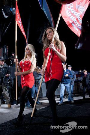 Charming Budweiser girls