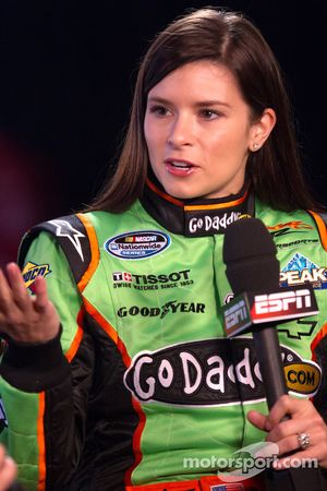 NASCAR Nationwide Series rijder Danica Patrick