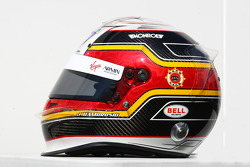 Jérome d'Ambrosio, Marussia Virgin Racing  helmet