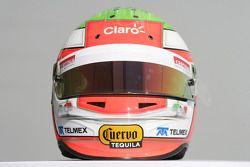 Sergio Perez, Sauber F1 helm