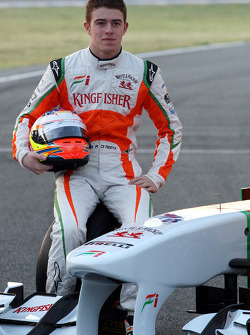 Paul di Resta, Piloto de pruebas de Force India F1