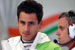 Адриан Сутиль, Force India F1