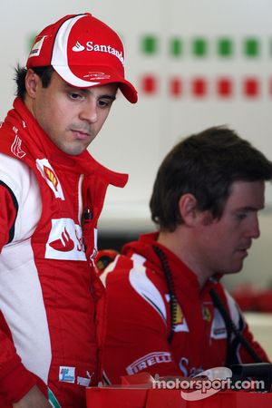 Felipe Massa, Scuderia Ferrari, Rob Smedly,, Scuderia Ferrari, Chief Engineer of Felipe Massa