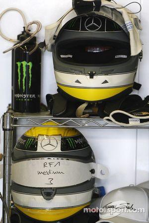 Helm van Nico Rosberg, Mercedes GP Petronas F1