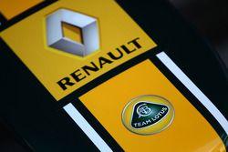 Team Lotus en Renault badge
