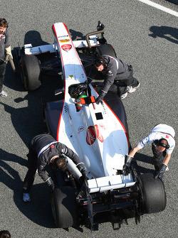 Sergio Pérez, Sauber F1