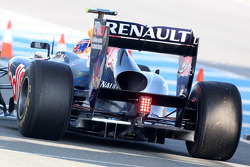 Mark Webber, Red Bull Racing, a detalle