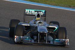 Nico Rosberg, Mercedes GP Petronas F1