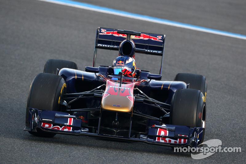 Daniel Ricciardo, Test Pilotu, Scuderia Toro Rosso