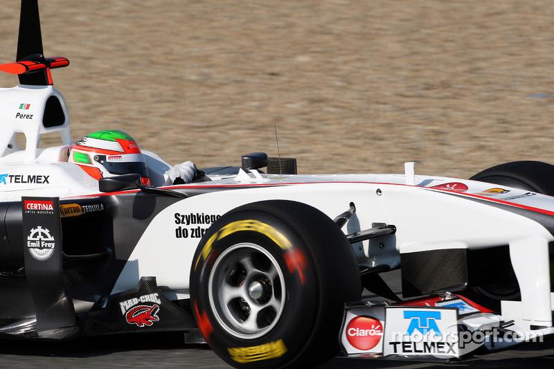 Sergio Pérez, Sauber C30