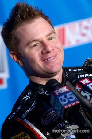 NASCAR Nationwide Series rijder Jason Lefler