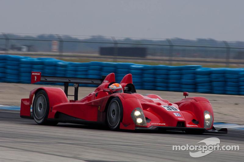 #36 Genoa Racing Oreca FLM 09: Larry Connor