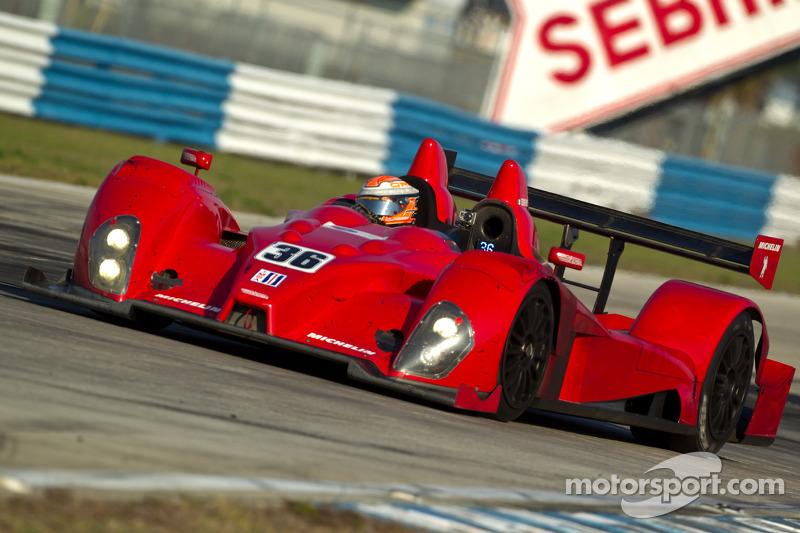 #36 Genoa Racing Oreca FLM09: Larry Connor