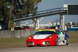 #91 CRS Racing Ferrari 430 GT2: Pierre Ehret, Tim Mullen