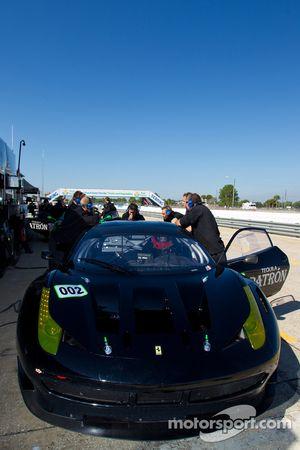 #002 Extreme Speed Motorsports Ferrari F458 GTC: Scott Sharp, Johannes van Overbeek