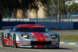 #40 Robertson Racing Doran Ford GT Elan Power: David Robertson, Andrea Robertson