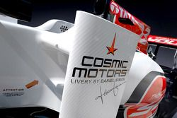 yeni HRT Racing HRT F111 design for 2011 F1 season