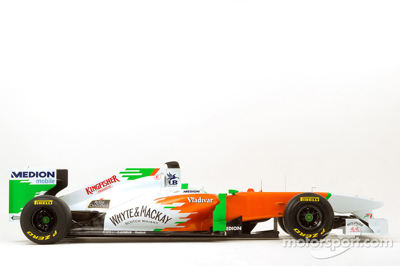 Der neue Force India VJM04