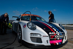 #21 Alex Job Racing Porsche GT3: Michael Schein