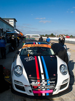 #21 Alex Job Racing Porsche GT3: Michael Schein