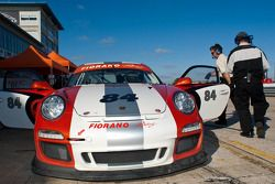 #84 Speedmerchants - Fiorano Racing Cee-Jay Micro LTD. Porsche GT3: Perry Bortolotti