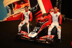 Jerome D'Ambrosio, Marussia Virgin Racing; Timo Glock, Marussia Virgin Racing