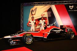 Timo Glock, Marussia Virgin Racing ve Jerome D'Ambrosio, Marussia Virgin Racing