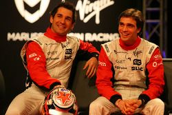 Timo Glock, Marussia Virgin Racing; Jerome D'Ambrosio, Marussia Virgin Racing