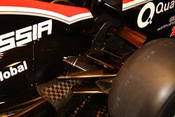 yeni Marussia Virgin Racing MVR-02