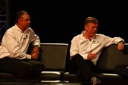 Nick Wirth, Teknik Direktörü, Marussia Virgin Racing ve Andy Webb CEO, Marussia Racing
