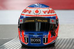 Helm von Jenson Button, McLaren Mercedes