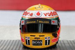 Шлем Льюиса Хэмилтона, McLaren Mercedes