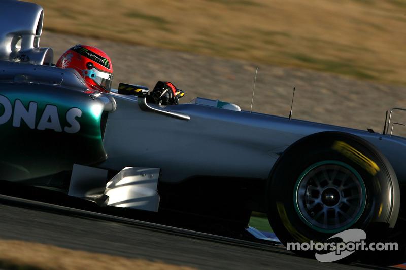 Michael Schumacher fue el más rápido